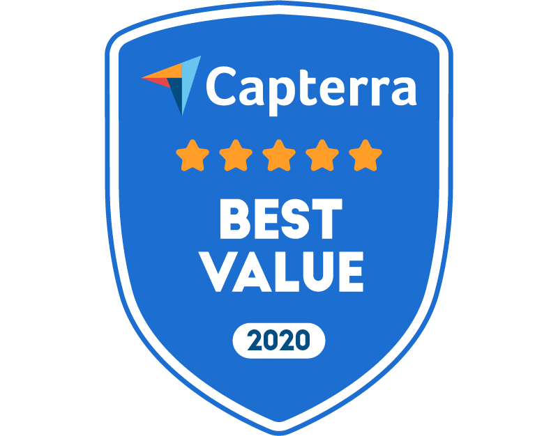 Capterra Best Value for Nonprofit Nov-20