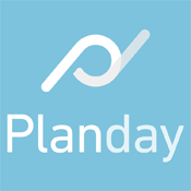 Planday logo 175px
