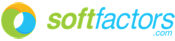 Softfactors logo 175px