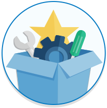 Popular package icon