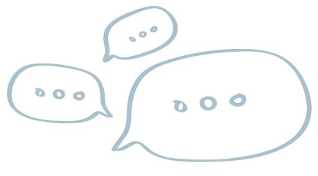 Chat-bubbles