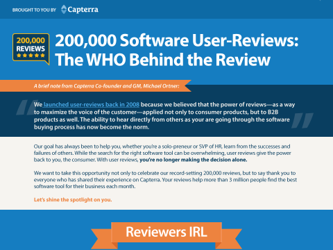 200,000 Software User-Reviews