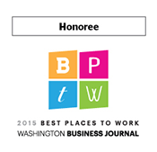 WBJ Best Places to Work Award 2015