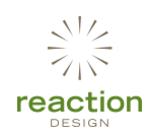 Reaction Design