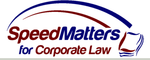 SpeedMatters for Corporate Law