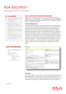 RSA SecurID Reviews and Pricing - 2019