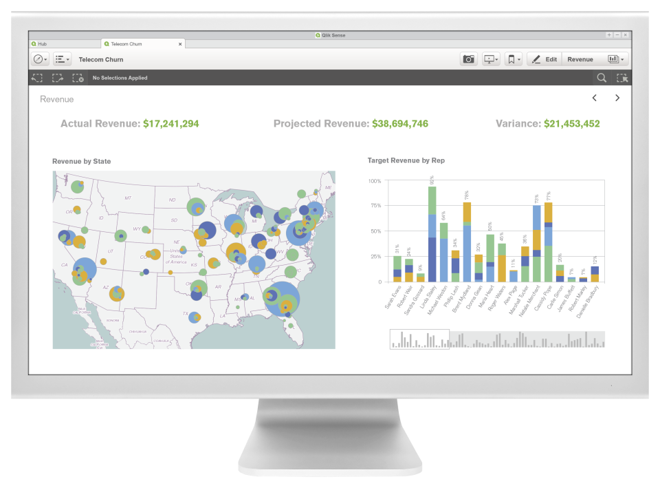 Qlik Sense Reviews and Pricing - 2019