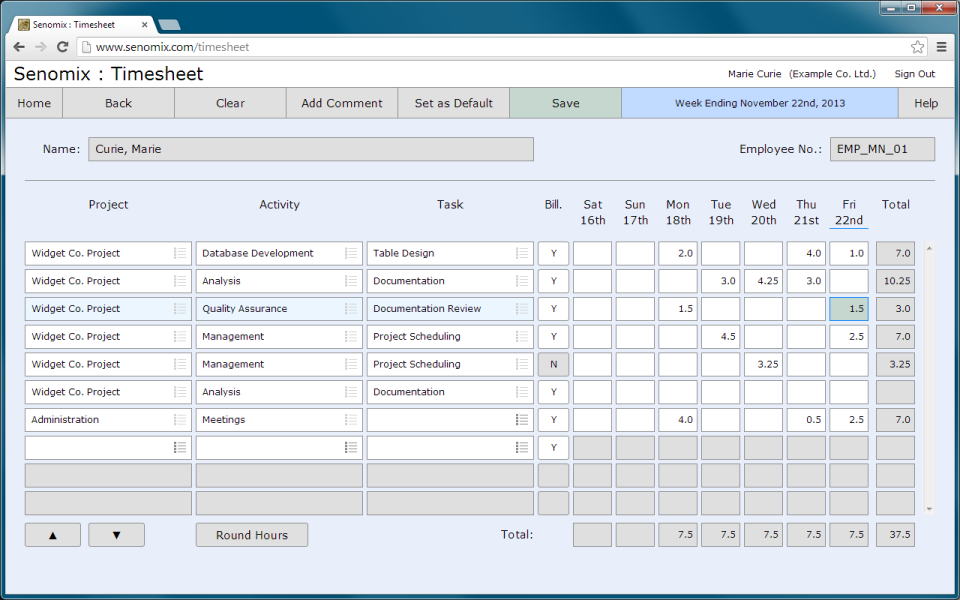 senomix timesheets reviews and pricing