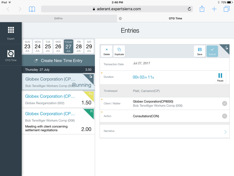 Aderant Expert Sierra Reviews And Pricing 2019