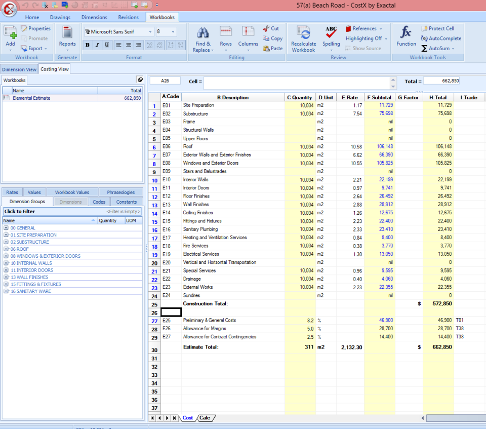 costx software