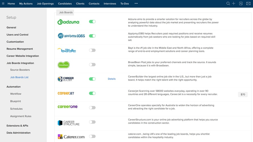 Zoho Recruit Reviews And Pricing 2019