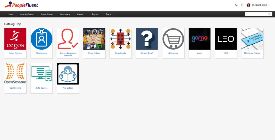LMS Catalog Browser