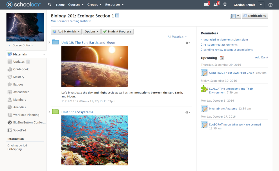 Schoology Reviews and Pricing - 2019