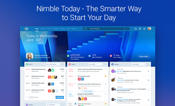 Nimble Reviews and Pricing - 2019
