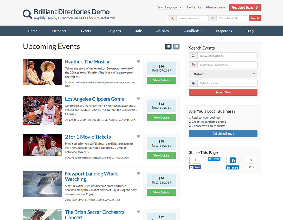 Brilliant Directories Reviews and Pricing - 2019
