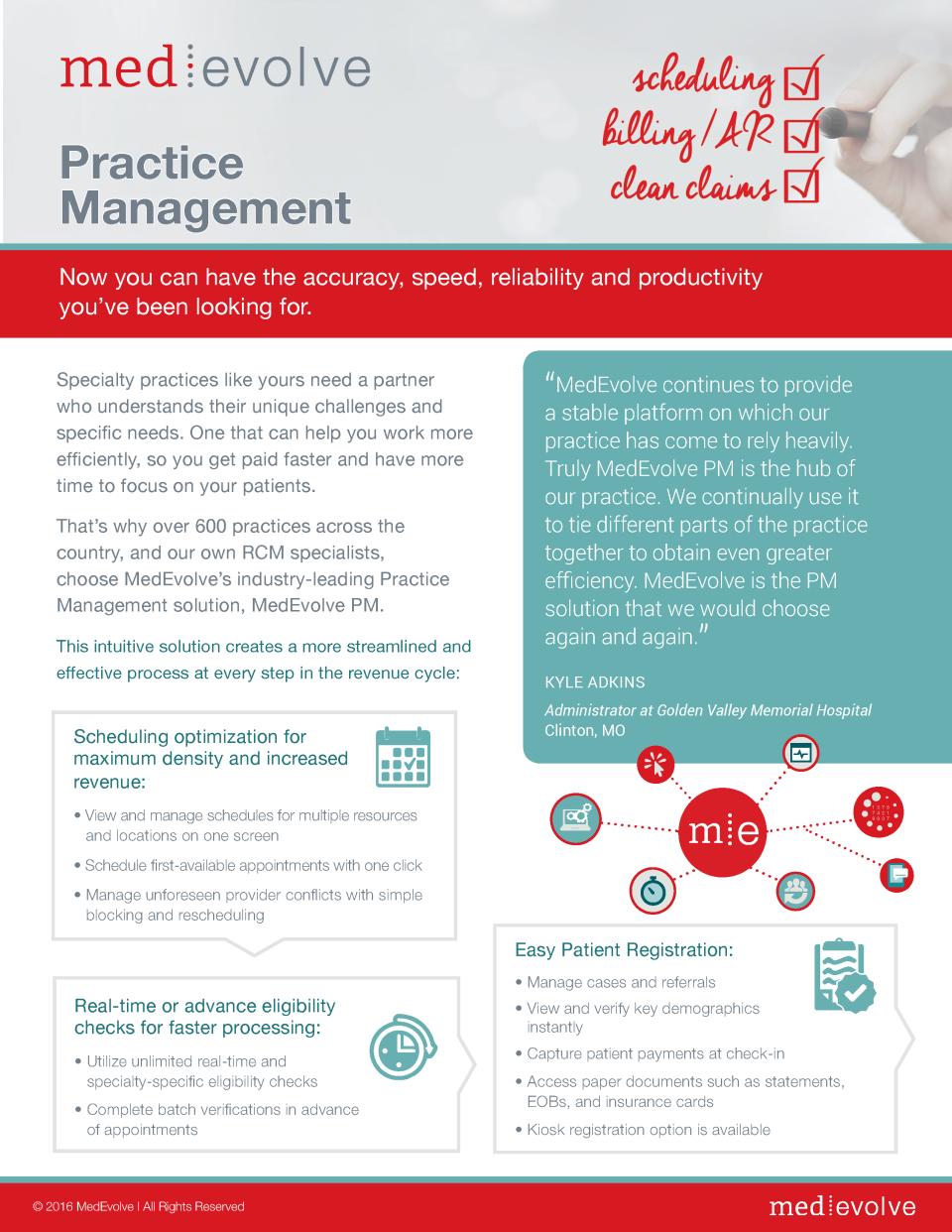 MedEvolve PM Info Sheet 1