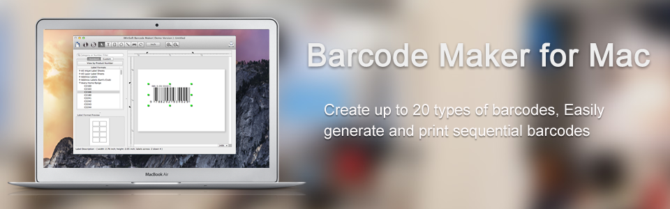 Barcode Maker for Mac Reviews and Pricing - 2019