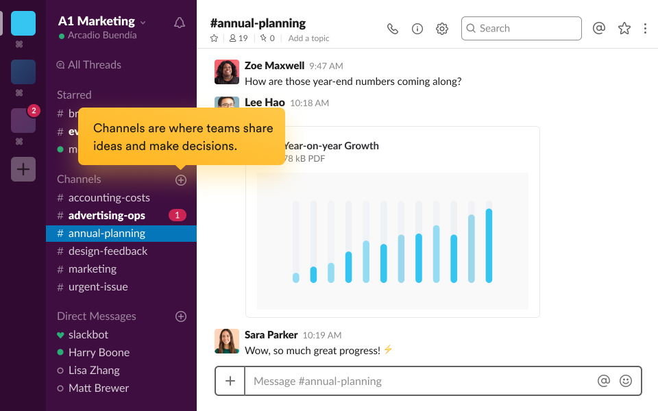 Slack Reviews and Pricing - 2019
