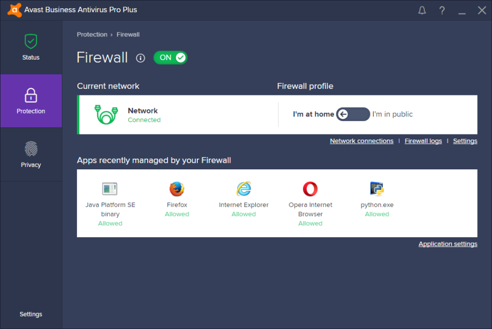 avast security pro features