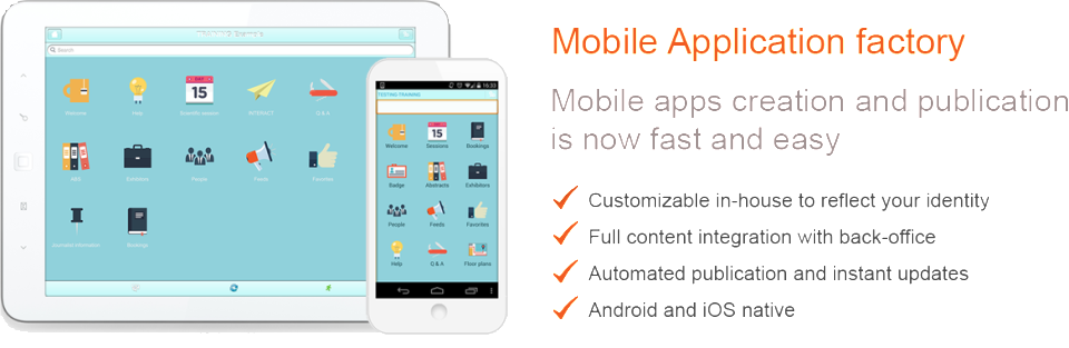 EE4 Event Mobile Apps