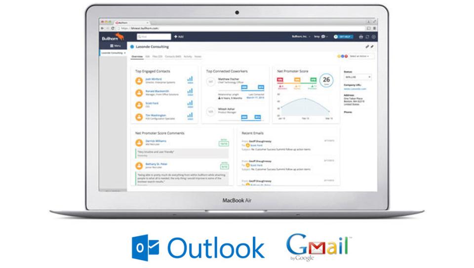 Bullhorn Email Integratio