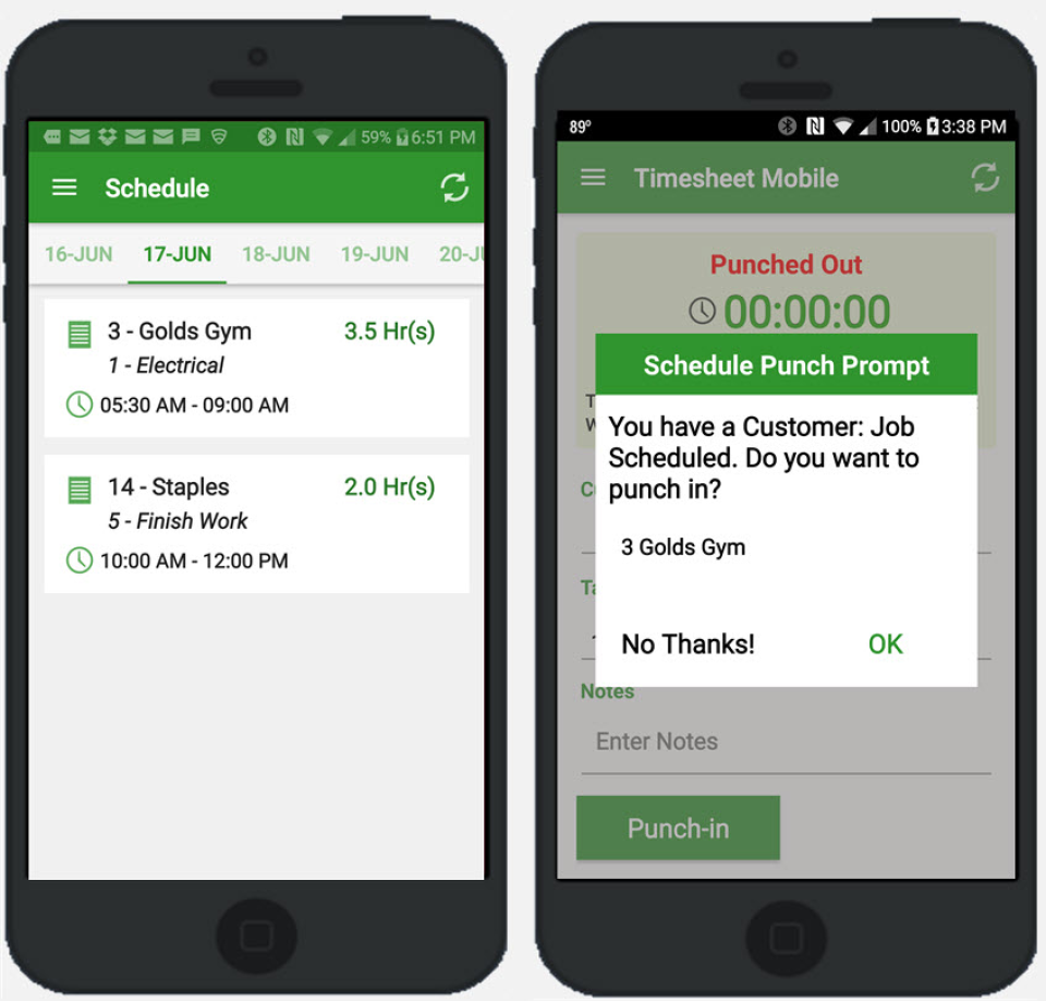 timesheet mobile reviews and pricing 2018