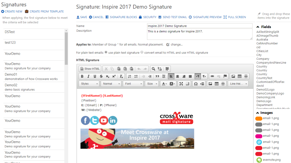 Crossware Mail Signature Reviews and Pricing - 2019