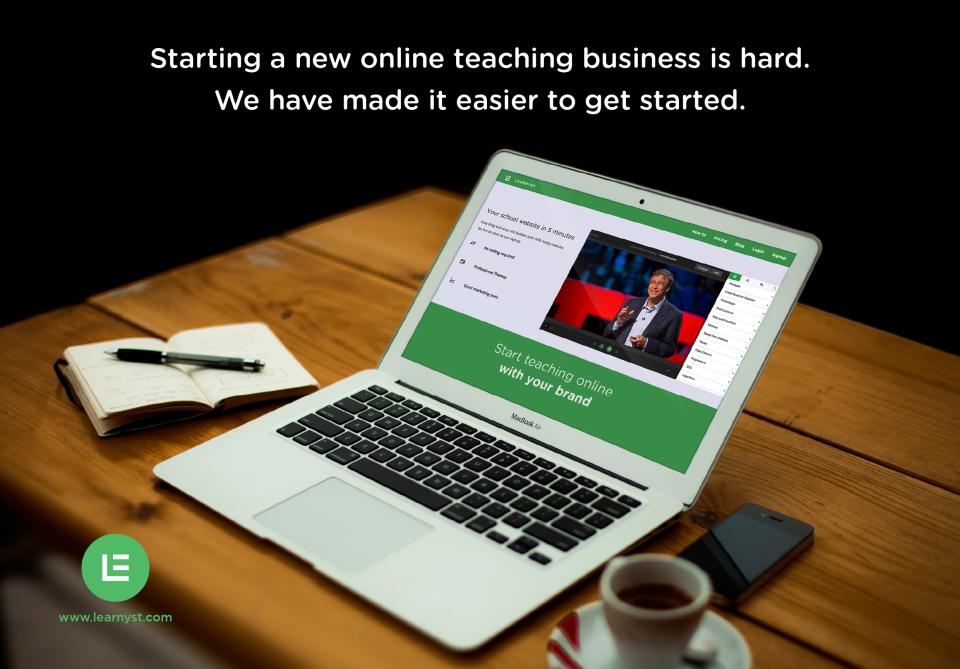 Learnyst -Online teaching