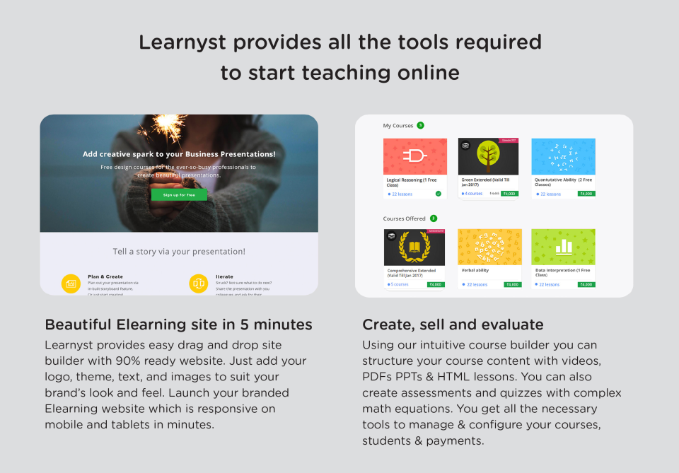 Learnyst demo