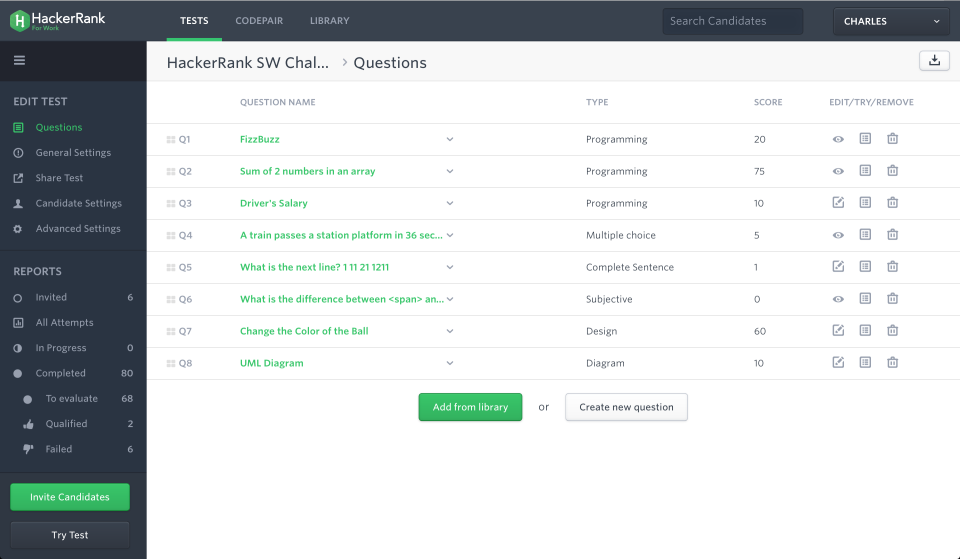 HackerRank Reviews and Pricing - 2019