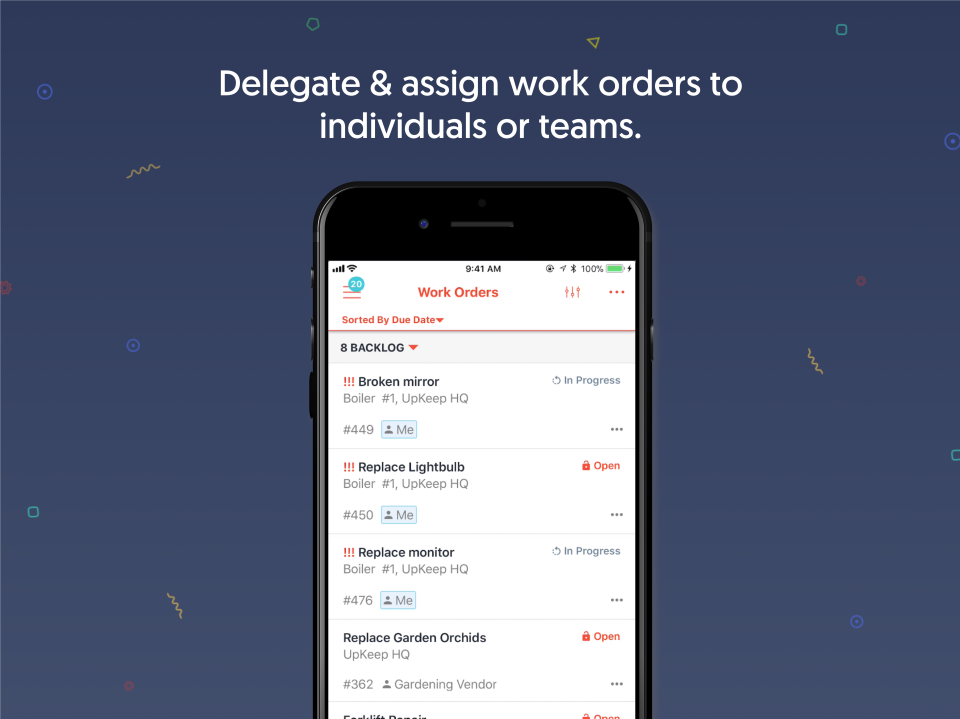 Create Work Orders Easily