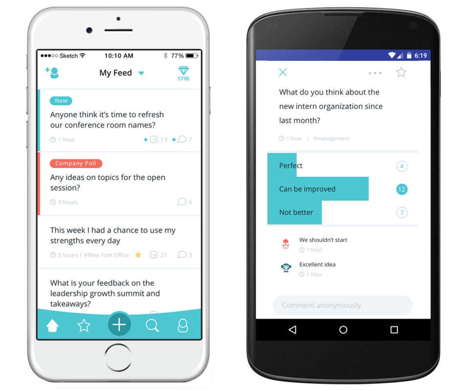 Hyphen on Android & iOS