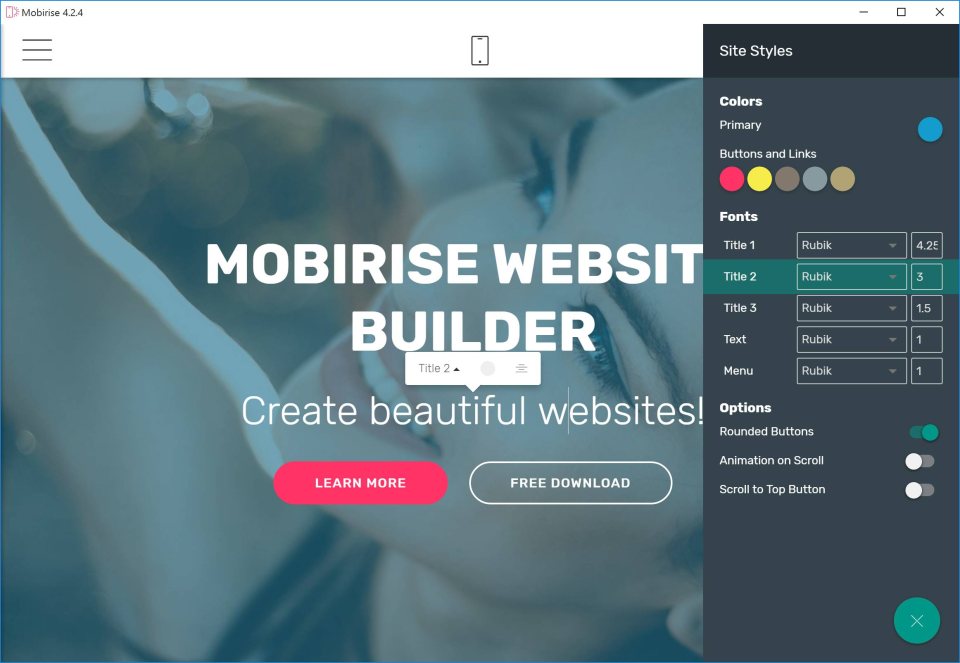 Mobirise Website Builder Reviews and Pricing - 2018 - photo#39