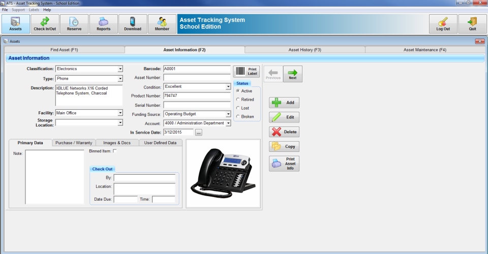 Asset Tracking Software Barcode System Reviews and Pricing - 2019