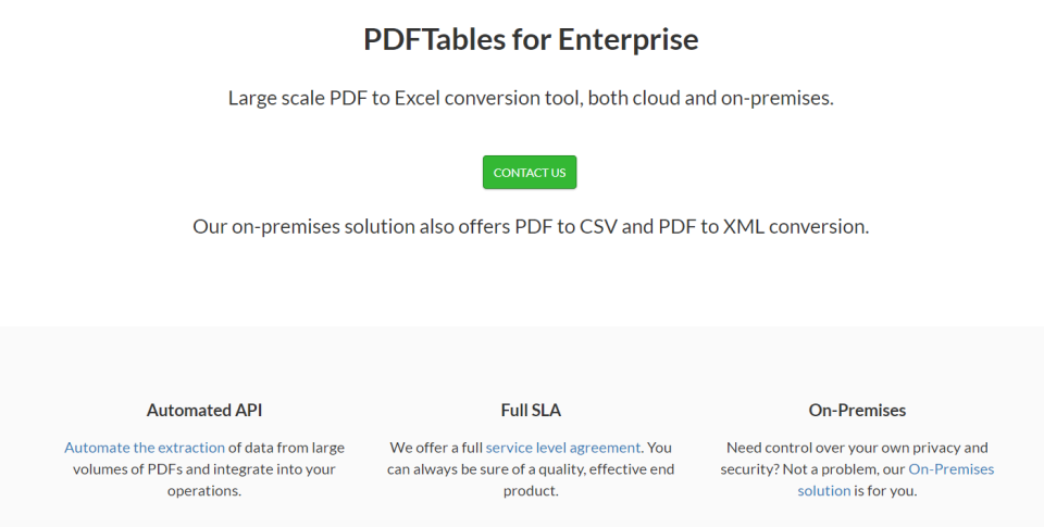 PDF Tables Reviews and Pricing - 2019