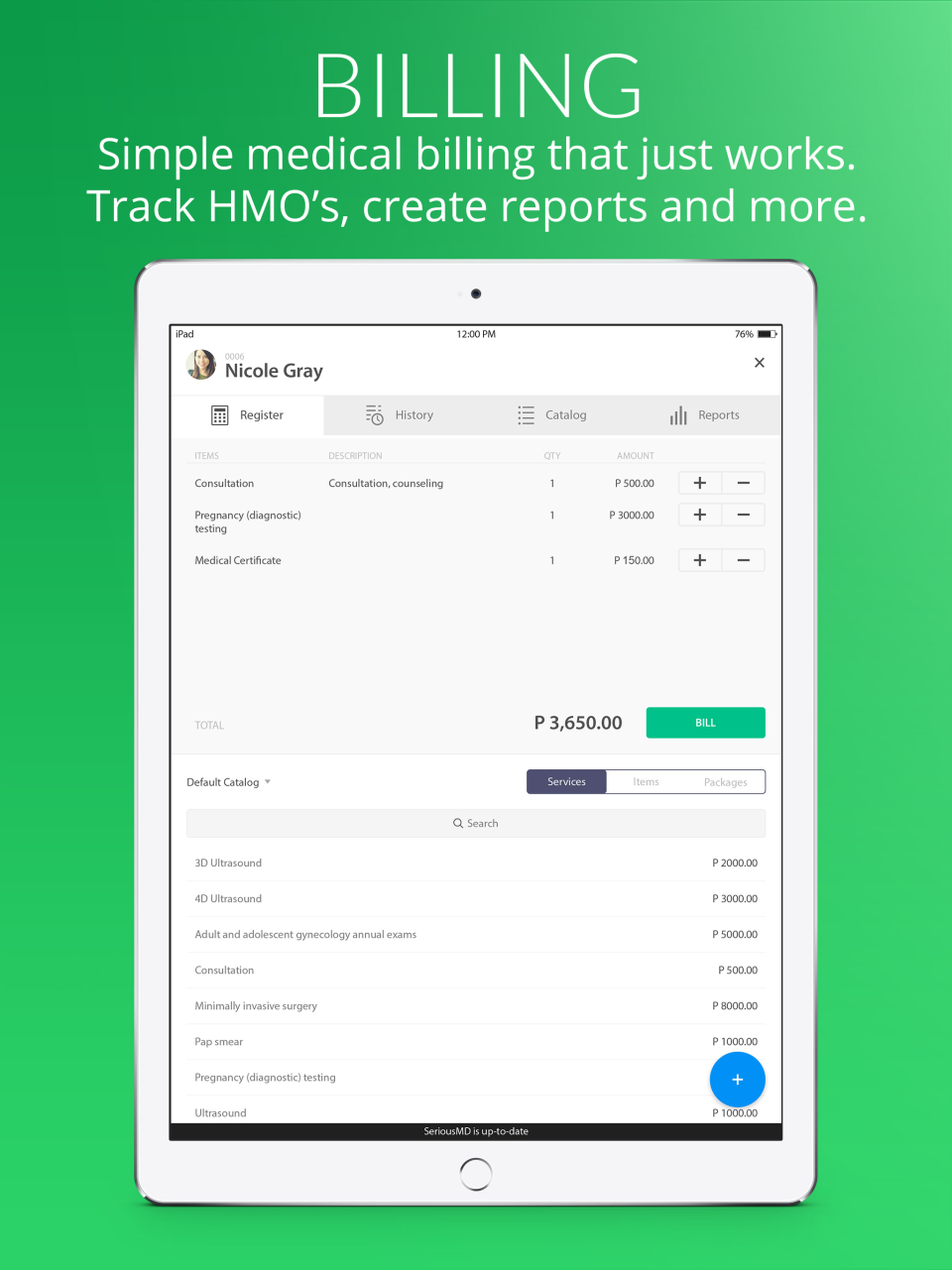 Track Billing with Ease