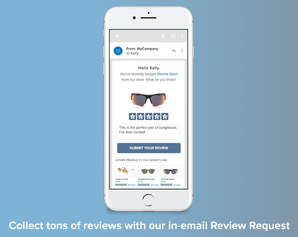 In-Email Review Request