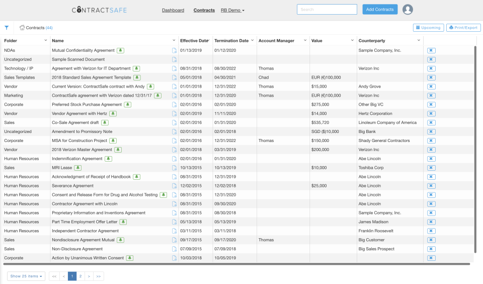 Customize Lists by User