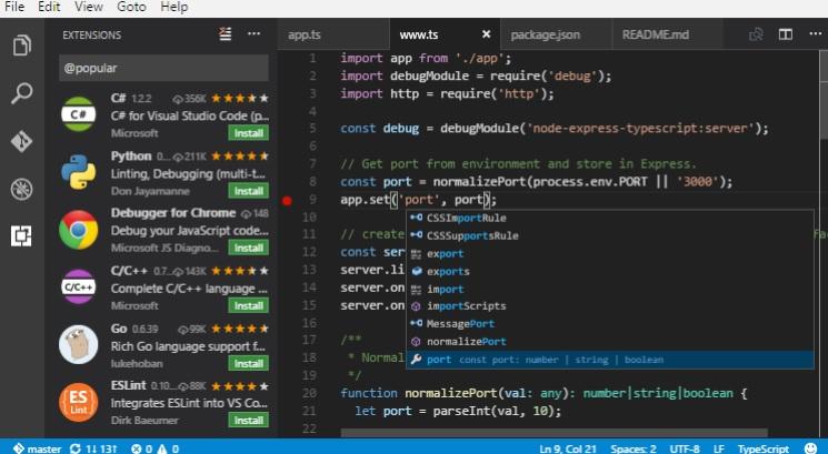 Visual Studio Code Reviews and Pricing - 2019