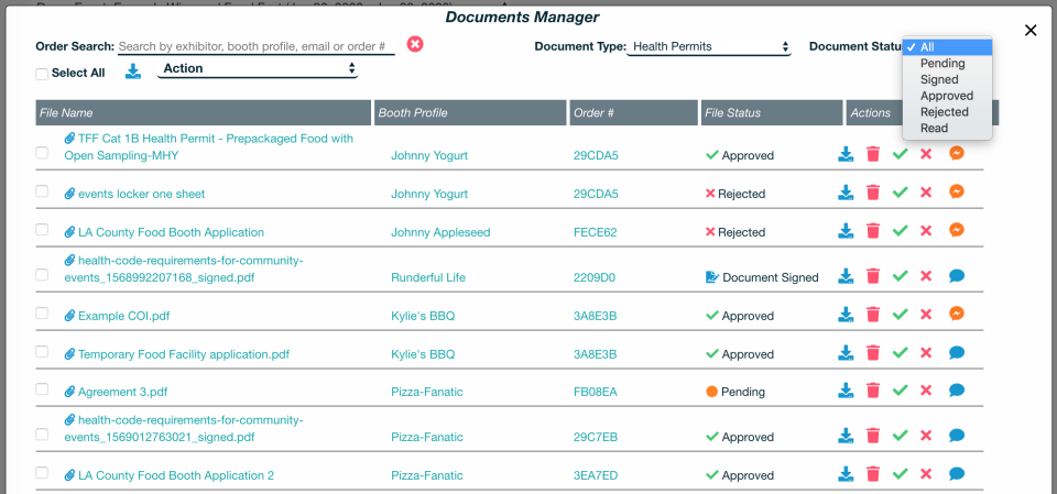 Documents Manager