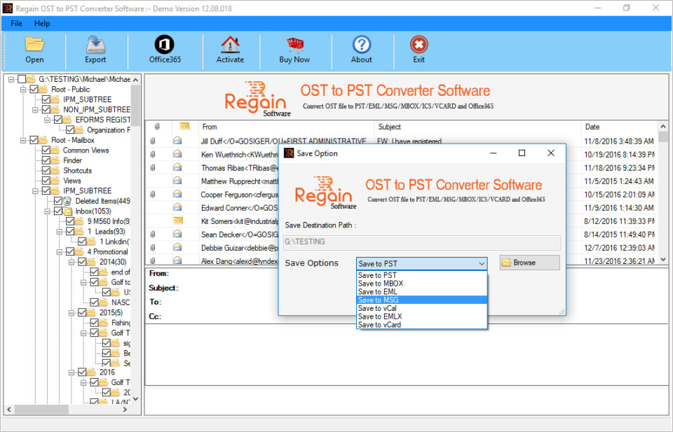 Regain OST to PST Converter Reviews and Pricing - 2019