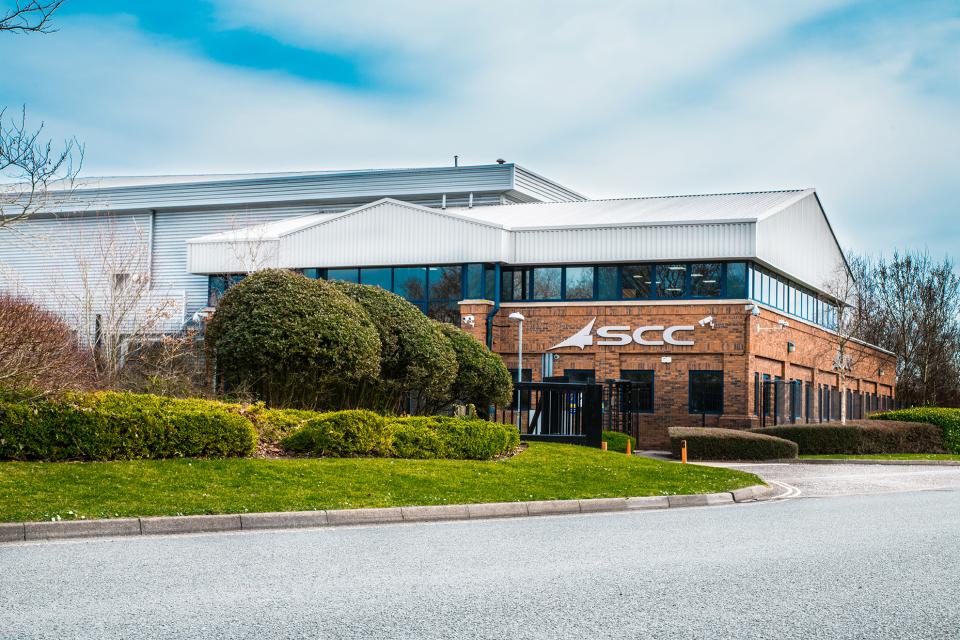 SCC Data Centre, Fareham