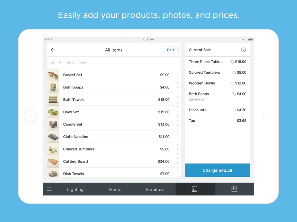 Square Point Of Sale Reviews And Pricing - Send invoice on square