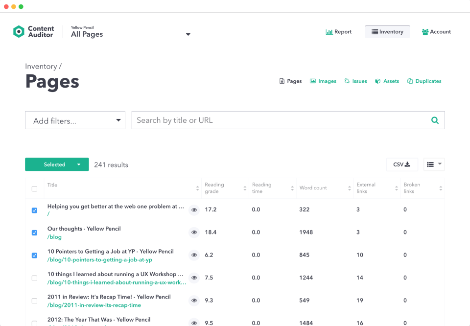 OnPoint Content Auditor Reviews and Pricing - 2019