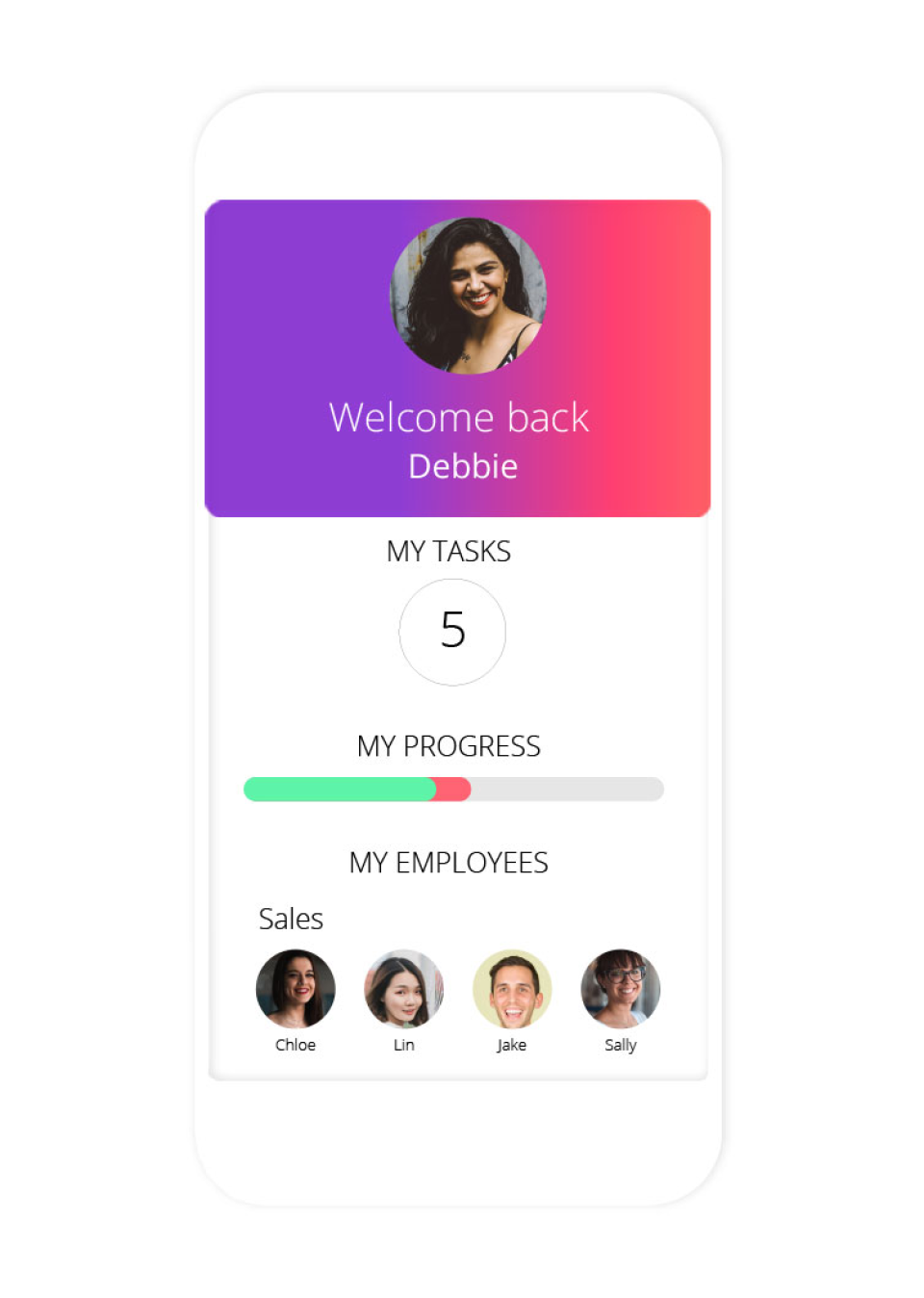 Dashboards for managers a