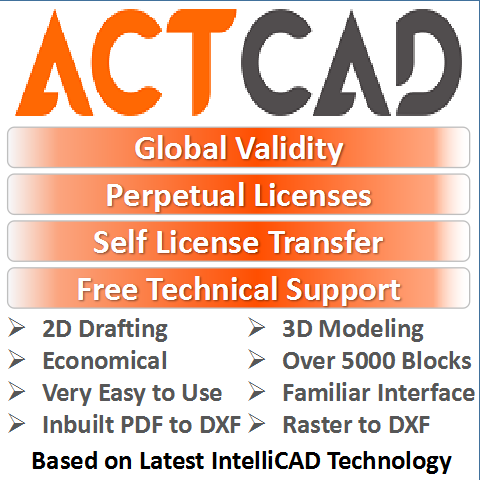 ActCAD 2020 Professional Reviews and Pricing - 2019