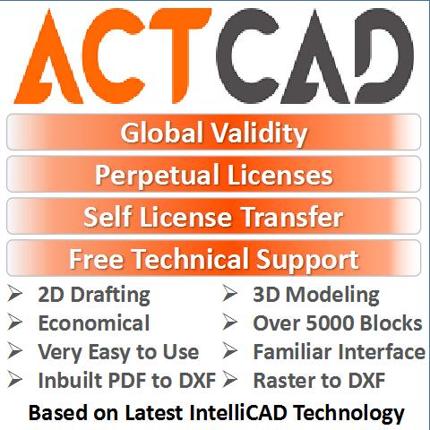 ActCAD: Affordable CAD