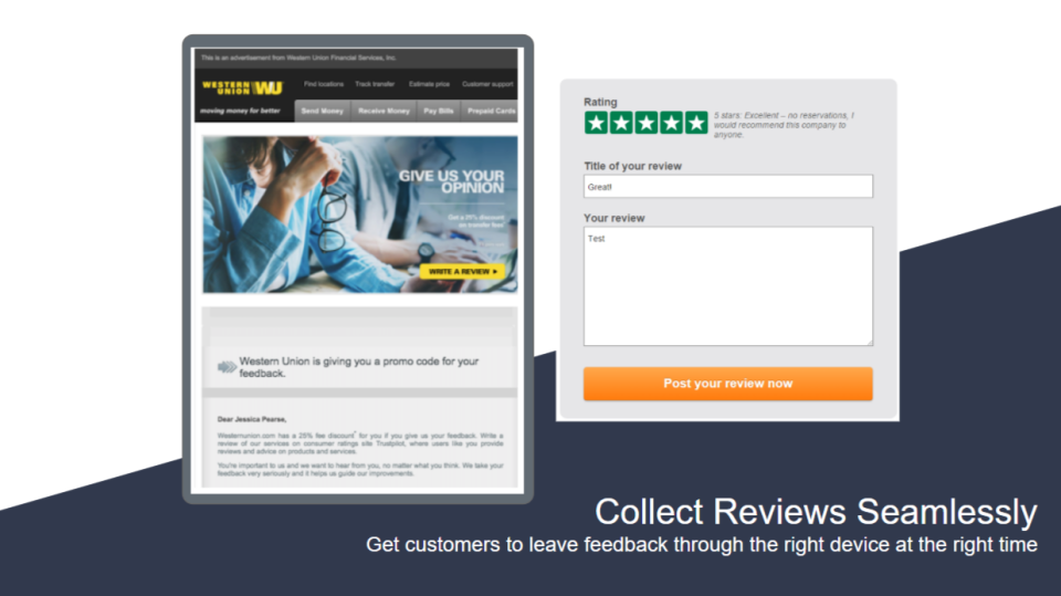 Collect Reviews