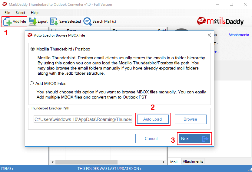 Thunderbird Outlook Converter Reviews and Pricing - 2019