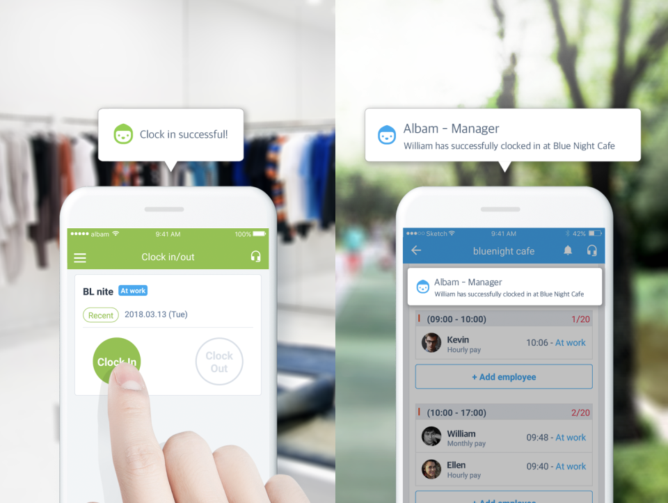 Manager and Staff App